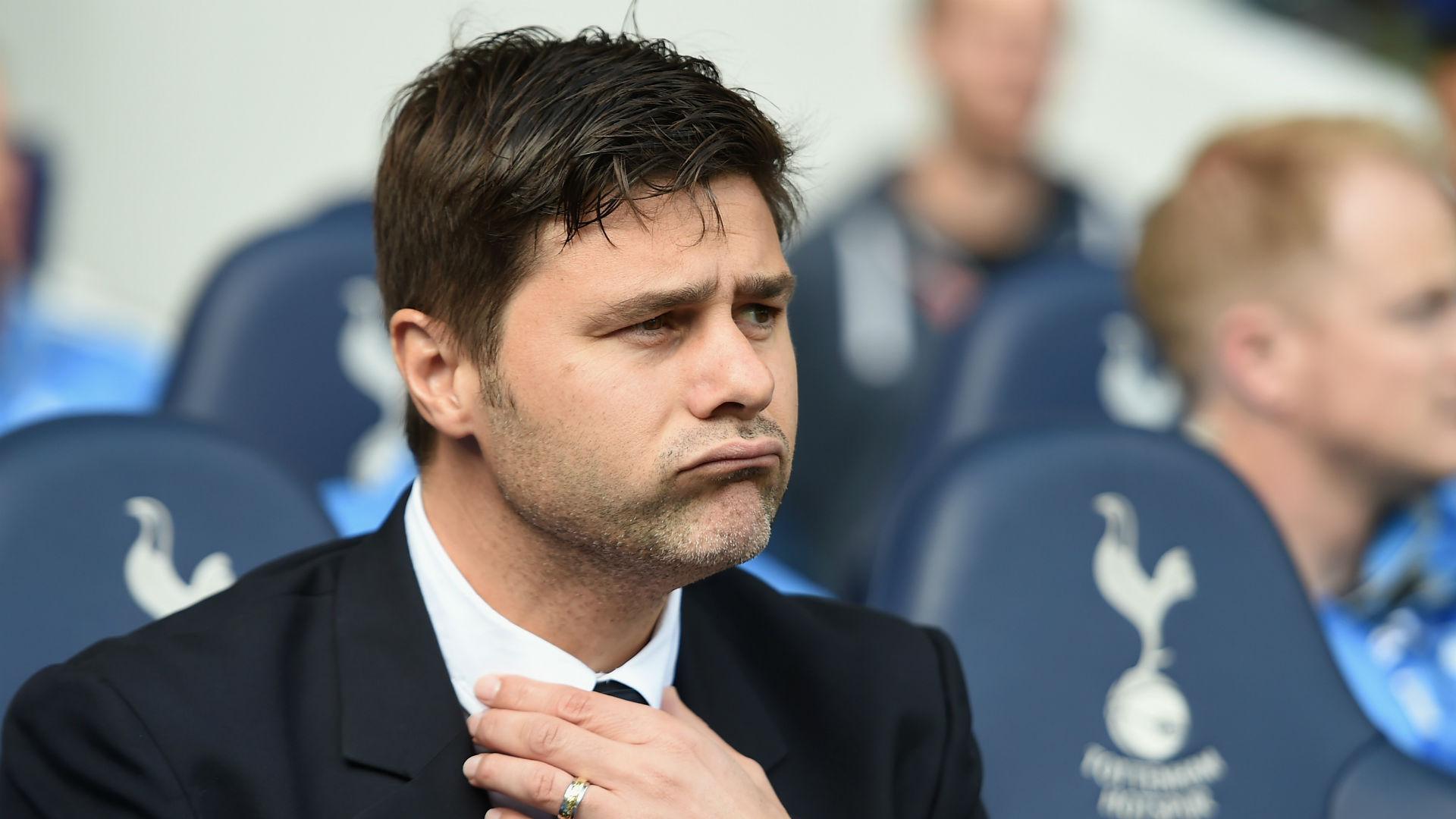 Mauricio Pochettino Premier League Tottenham v Manchester City 260915