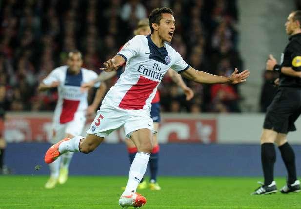 Marquinhos Lille Paris SG Ligue 1 05102014