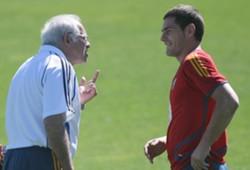 Iker Casillas & Luis Aragones