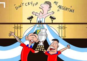 Lionel Messi once again missed out on silverware with Argentina as Chile won the Copa America on penalties.