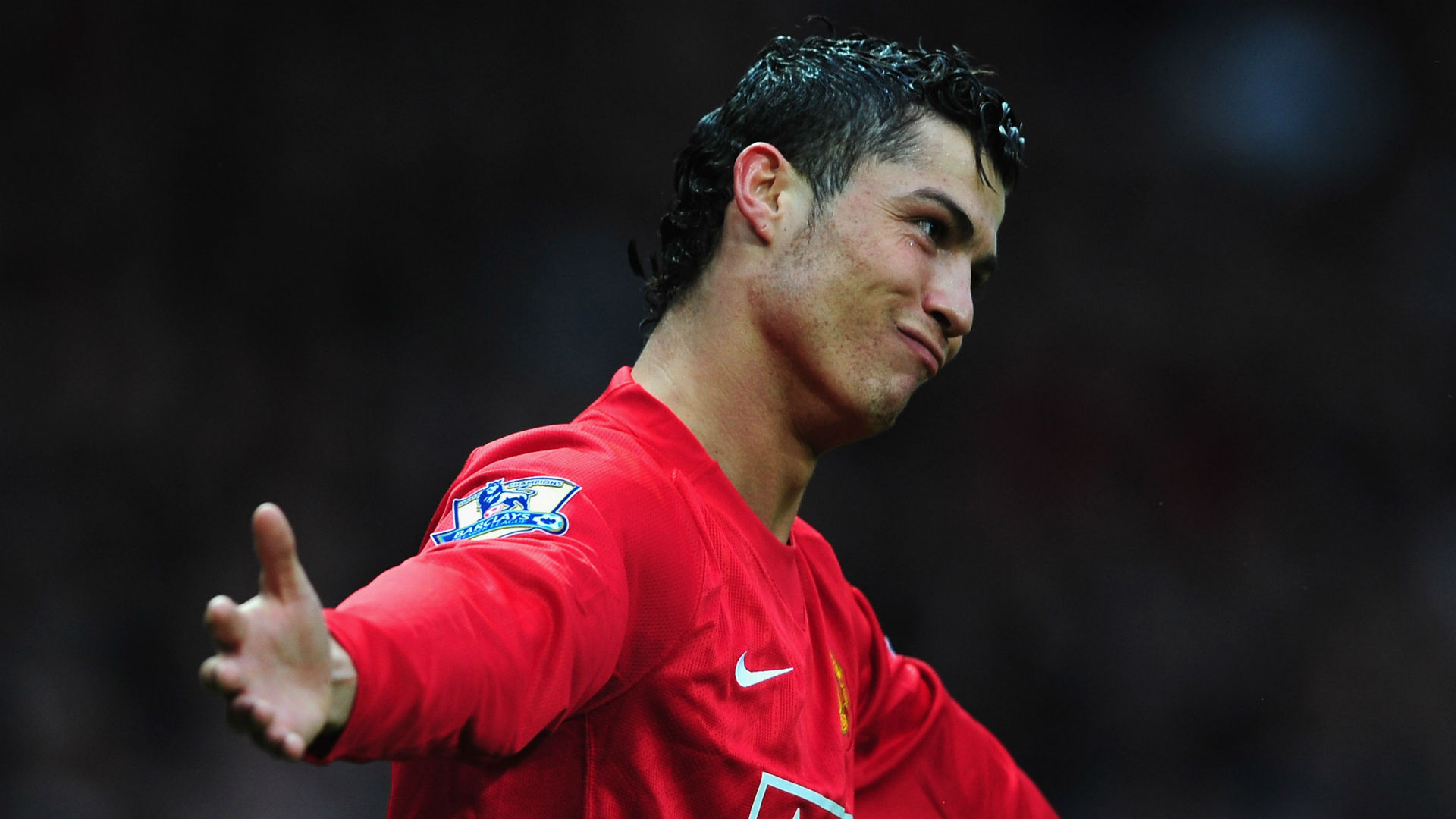 how long did cristiano ronaldo play for manchester united