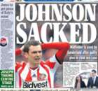 BACK PAGES: Johnson sacked