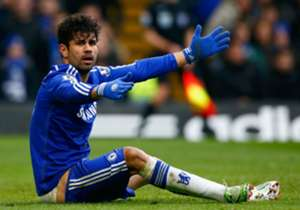 MOST TIMES BOOKED FOR SIMULATION: Diego Costa, Cesc Fabregas, Danny Ings (all two)
