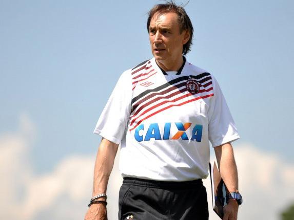 Miguel Angel Portugal - Atlético Paranaense coach 01082014