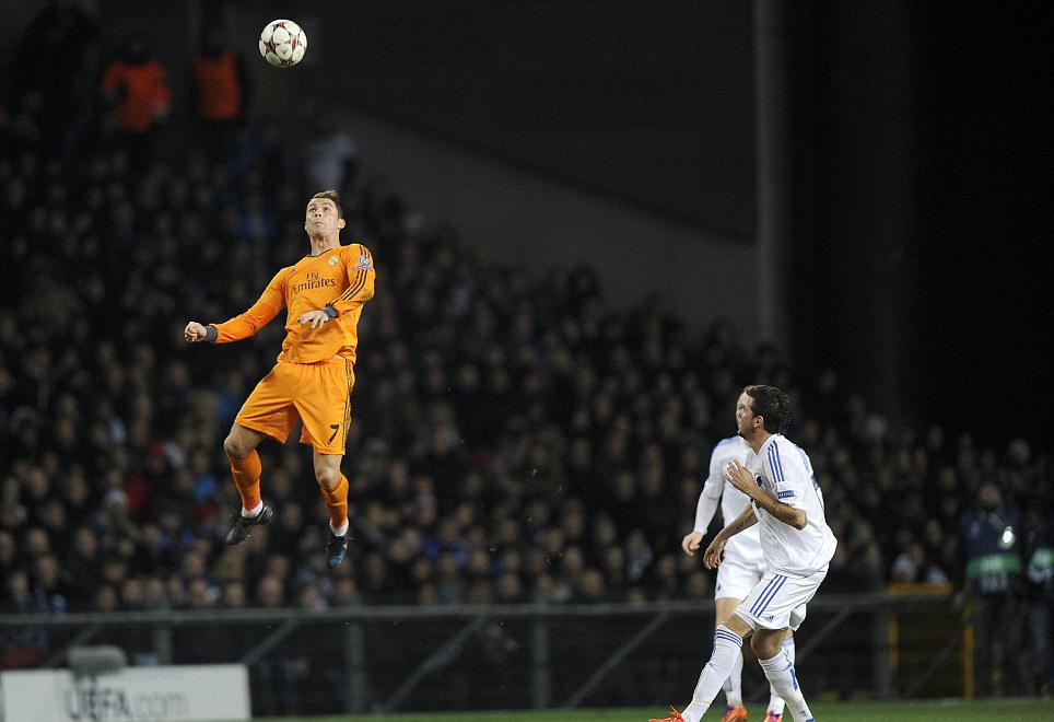 ronaldo do double jump
