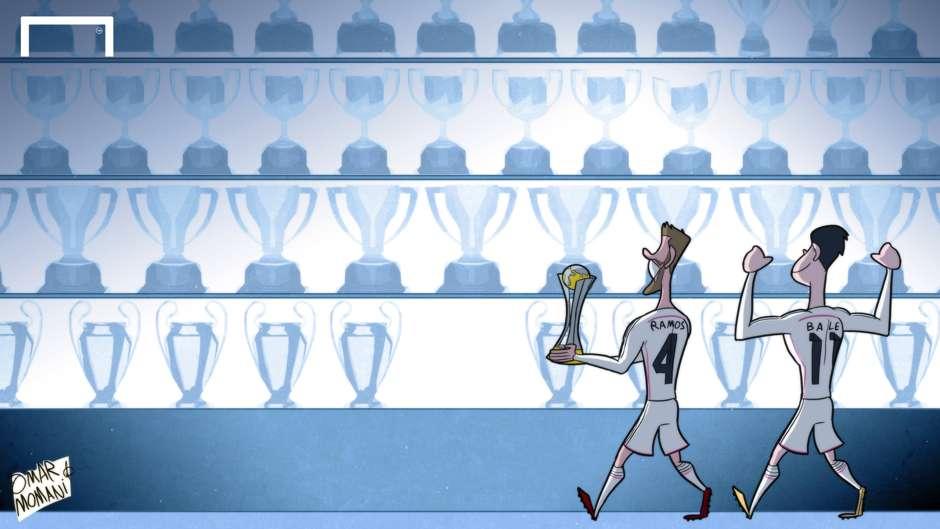 Гарет Бэйл, Серхио Рамос, Реал Мадрид