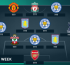 TOTW: Four Leicester stars make the XI
