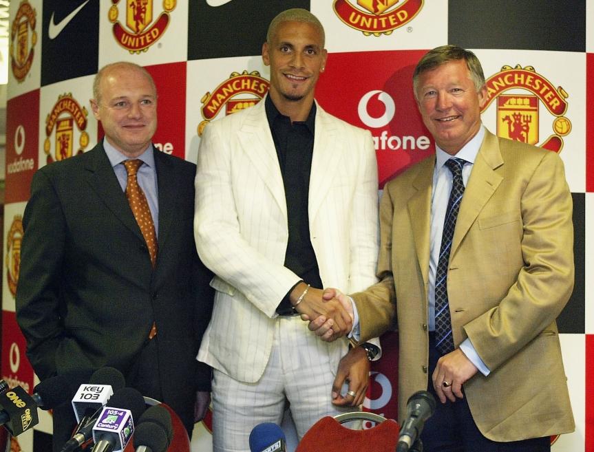 Rio Ferdinand, Alex Ferguson