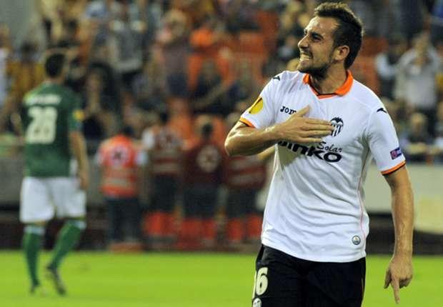 Schoss Valencia ins Viertelfinale: Paco Alcacer