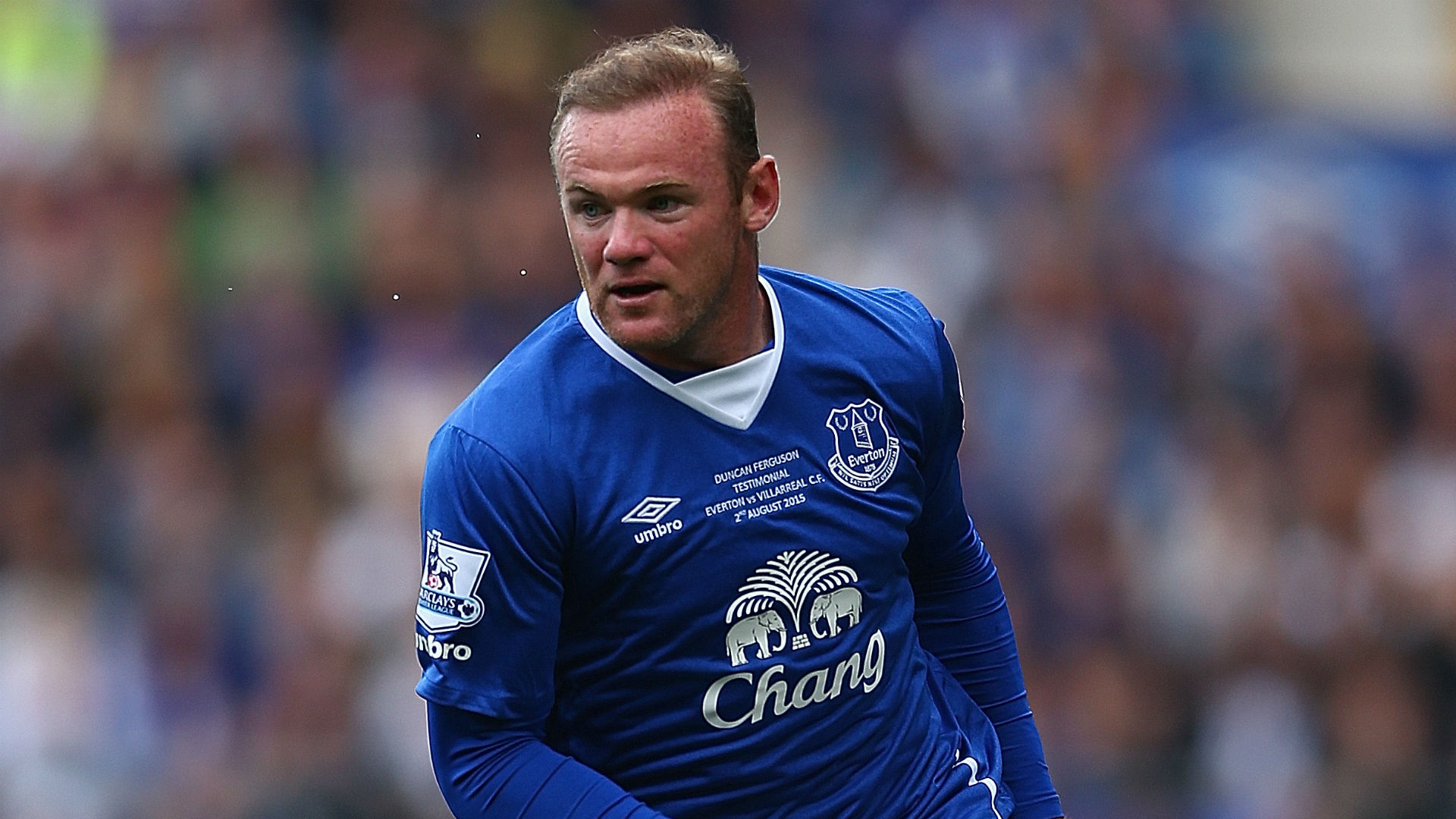 Wayne Rooney Everton v Villarreal 020815