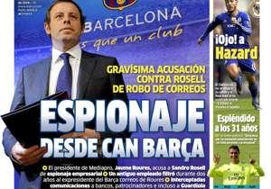 MARCA | ESPAÑA | Espionaje desde Can Barça. Seriosa acusación al expresidente azulgrana, Sandro Rosell