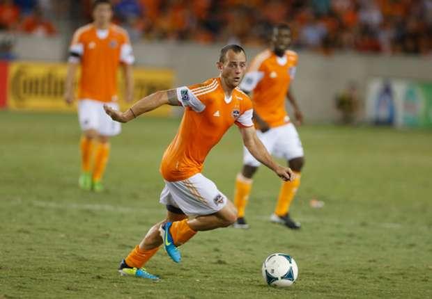 Houston Dynamo midfielder Brad Davis