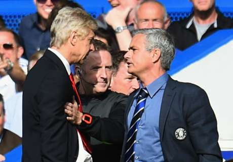 Wenger's biggest managerial feuds