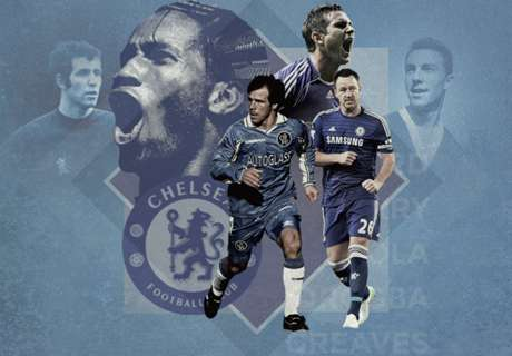 The 20 Greatest Chelsea Players Ever
