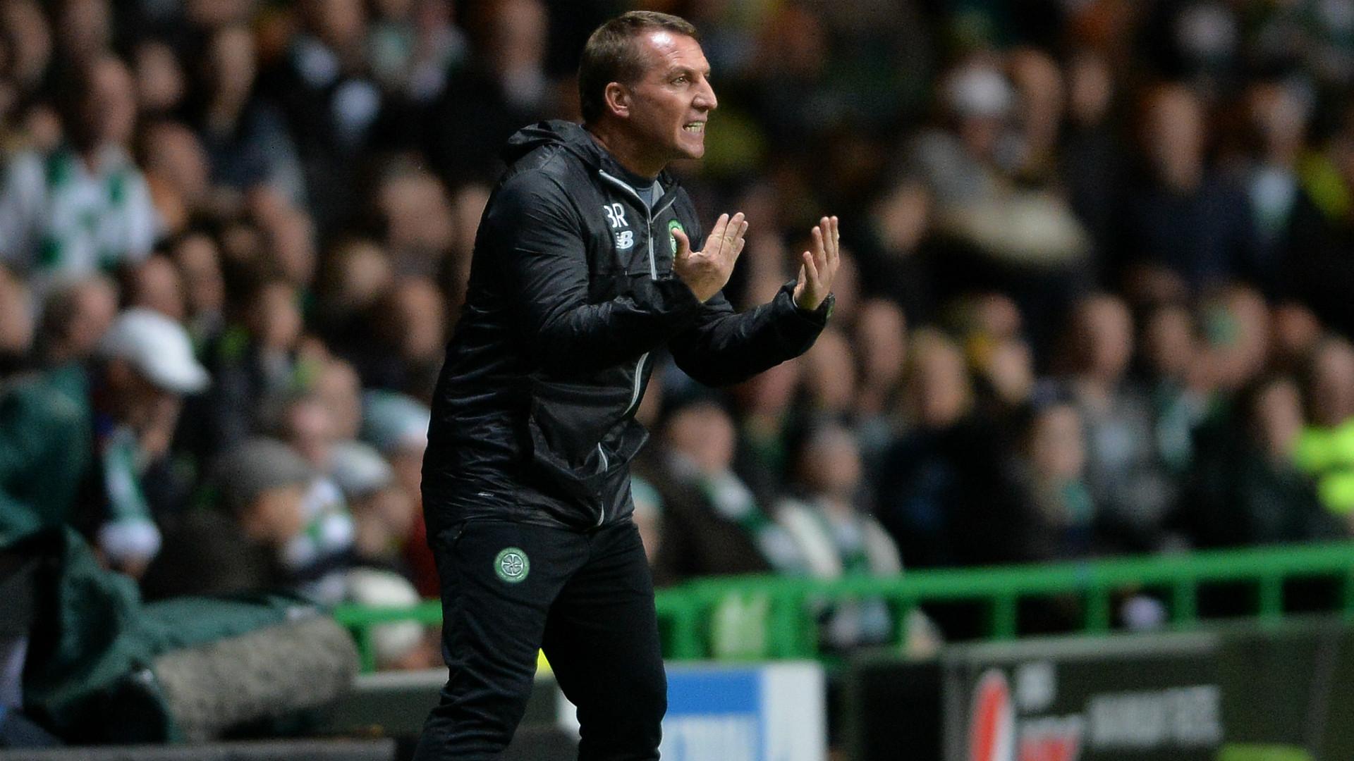 Brendan Rodgers Celtic Champions League