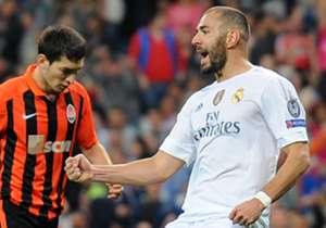 Gruppenphase | Real Madrid - Shachtjor Donezk 4:0 | Eindrucksvoller Start in die Champions-League-Saison 2015/2016: Dank drei Treffern von Ronaldo und einem Tor Benzemas, startet die Benitez-Elf mit einem hohen Auswärtssieg in den Wettbewerb. Einziger ...