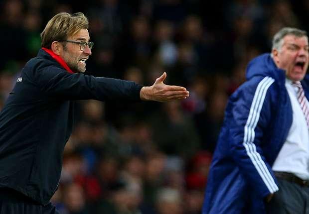 Allardyce brands Klopp a 'soft German' after Liverpool defeat