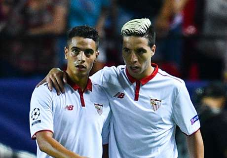 Sevilla edge out Lyon in close game