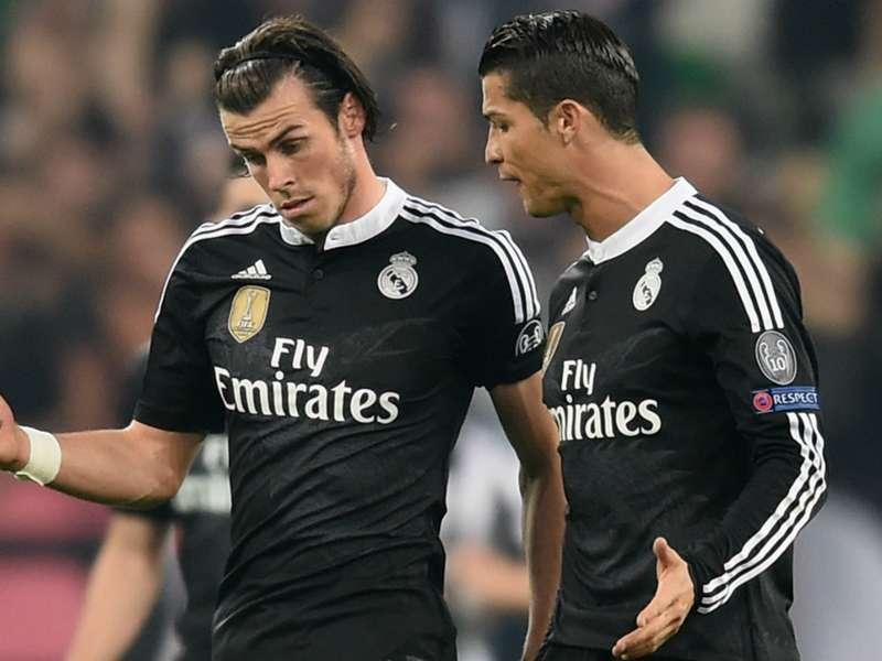 Gareth Bale; Cristiano Ronaldo Real Madrid