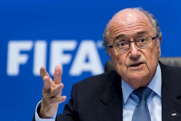 Nicht amüsiert von Meiers Schiedsrichterkritik: Sepp Blatter