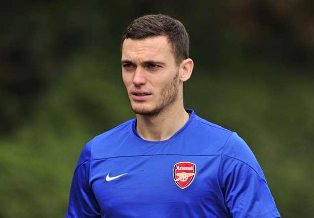 Arsenal defender Thomas Vermaelen
