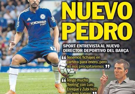 Papers: Barca wants 'new Pedro'