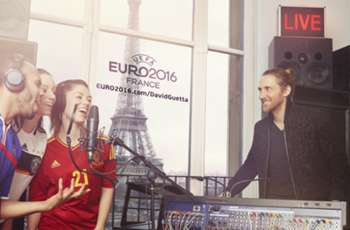 Guetta reaches one million mark for Euro 2016 song