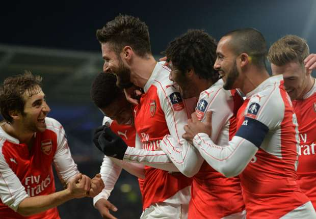 Hull 0-4 Arsenal: Olivier Giroud y Walcott sellan en pase a cuartos de FA Cup