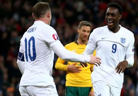 Goleada inglesa en Wembley