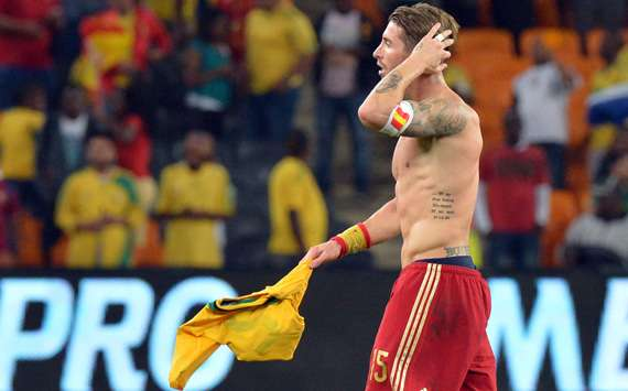 Ramos: The end for Spain? That's crazy