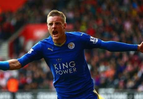 Vardy, el goleador récord del Leicester