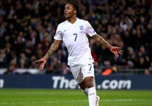 RAHEEM STERLING | The winger scored his first international goal against Lithuania but requires an injection on his toe and will not travel to Turin as a result.
