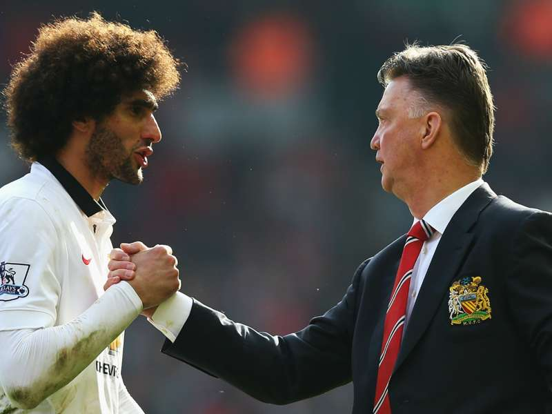 "LOUIS VAN GAAL on Marouane Fellaini's Goodison Park return: ""I have spoken with Fellaini because I know this. Fellaini is always dry in his answers. He said: 'It's a game.' 'Yes, but it's a special game for you.' I hope the fans shall receive him like ..."