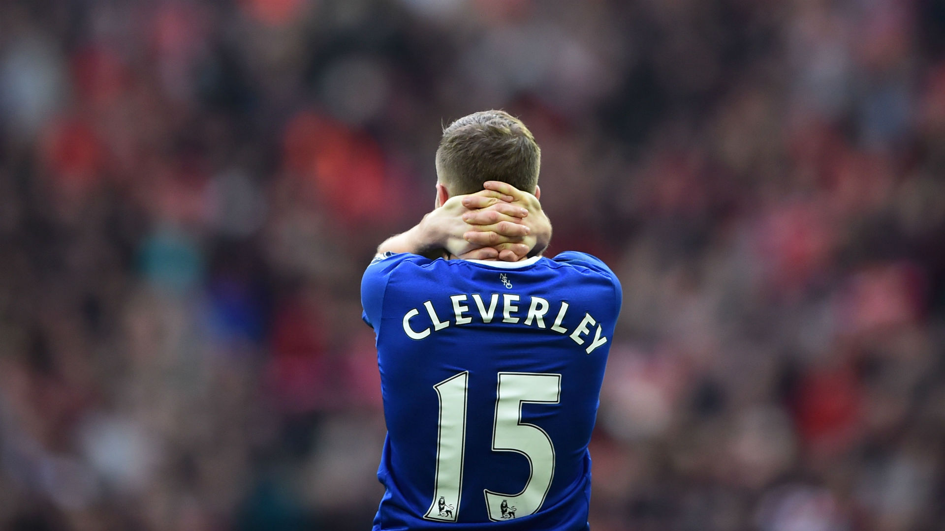 Tom Cleverley FA Cup Everton v Man Utd