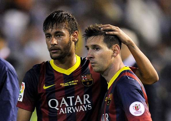 Neymar: I'd heard horrible things about Messi