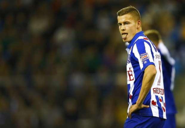Finnbogason heeft zijn zinnen gezet op een transfer naar de Serie A