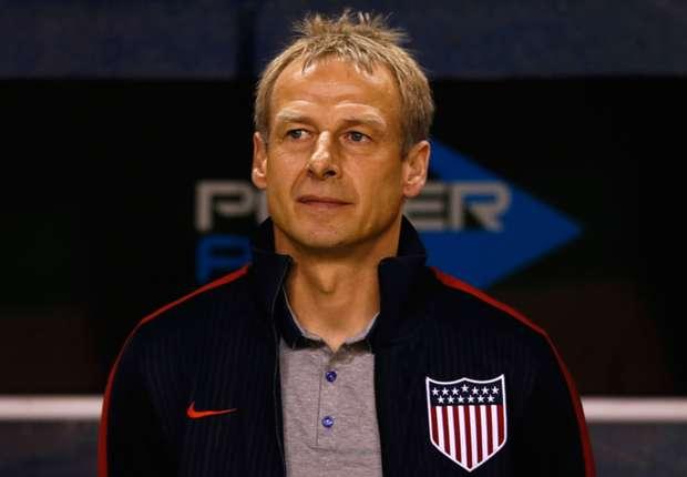 Klinsmann vivió el gol de sus dirigidos como si fuera propio.