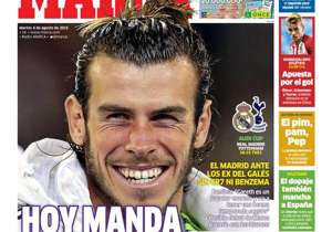"<strong>MARCA | SPAIN | TODAY CALLS FOR BALE |</strong> Real Madrid are relying on Gareth Bale in the absence of Cristiano Ronaldo and Karim Benzema; Rafa Benitez says he is ""a great player and he'll have a strong season""<br /><br /><strong>Plus:</stro..."