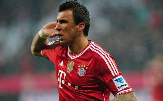 Guardiola drops Mandzukic for Pokal final