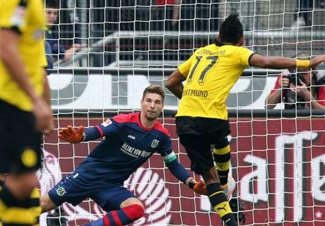 RATINGS: Hannover 2-4 Dortmund