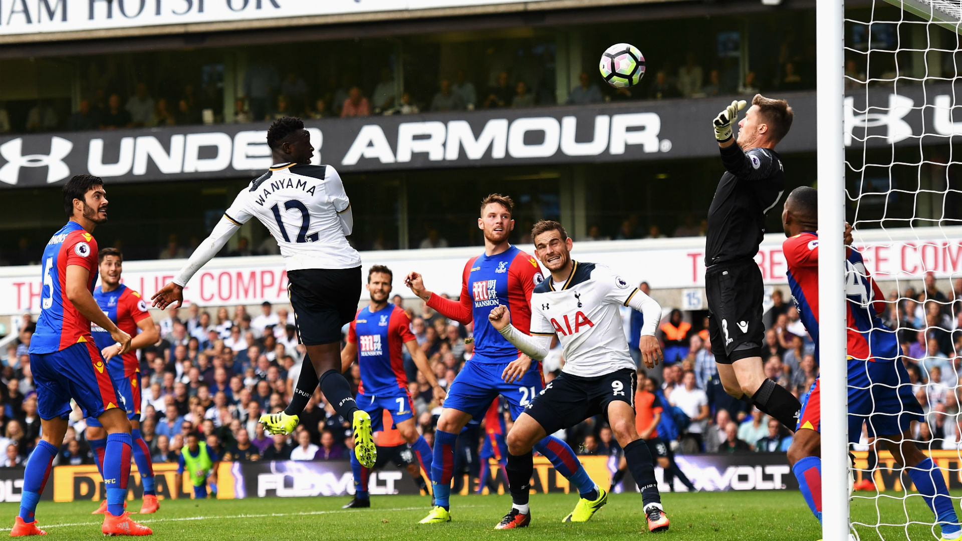 African Star Hands Spurs Victory Over Palace