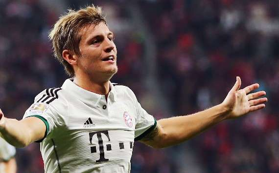 I'm not joining Manchester United - Kroos
