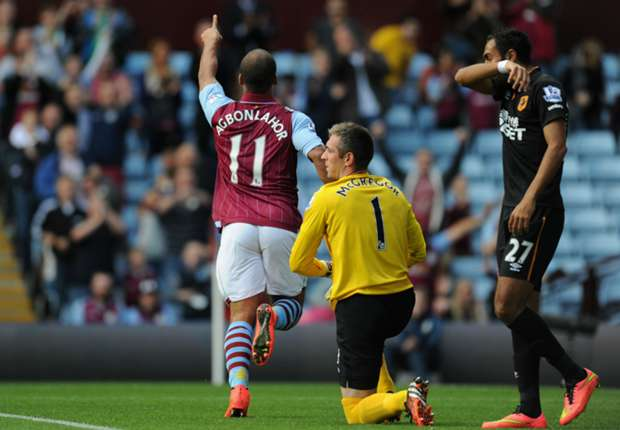 Lambert hails 'unplayable' Agbonlahor