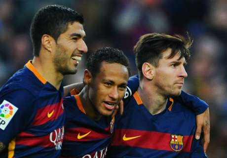 No 'envy' between Barca strikers - Suarez