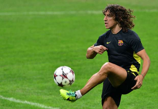 Puyol in Barca squad for Betis clash