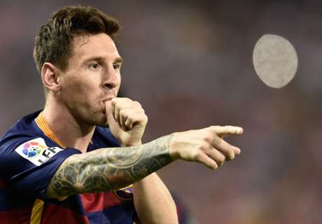 Lionel Messi wins The Goal 50