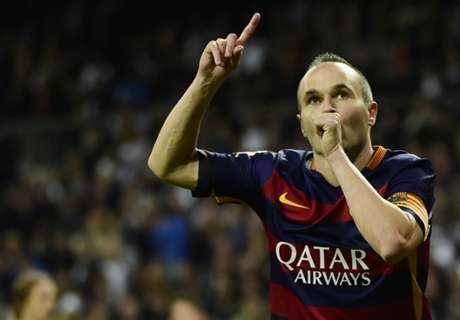 VIDEO: Iniesta sends a hug to Zambrotta