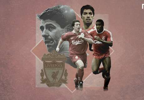 Top 20 Liverpool players of all time