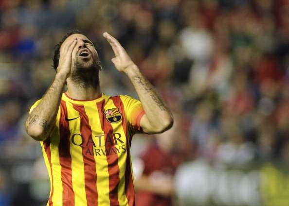 Fabregas told me 'he's off', says Pique