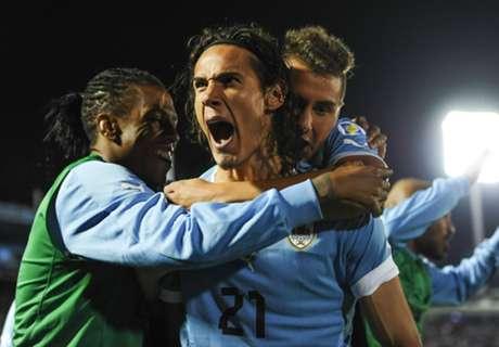 Penalti Cavani Menangkan Uruguay